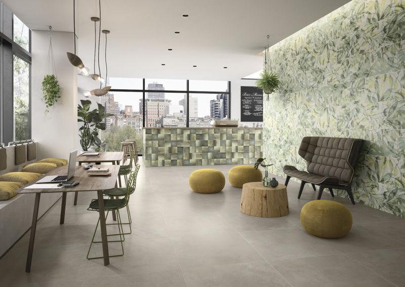 Villeroy & Boch Fliesen: Wand- und Bodenkonzept URBAN JUNGLE