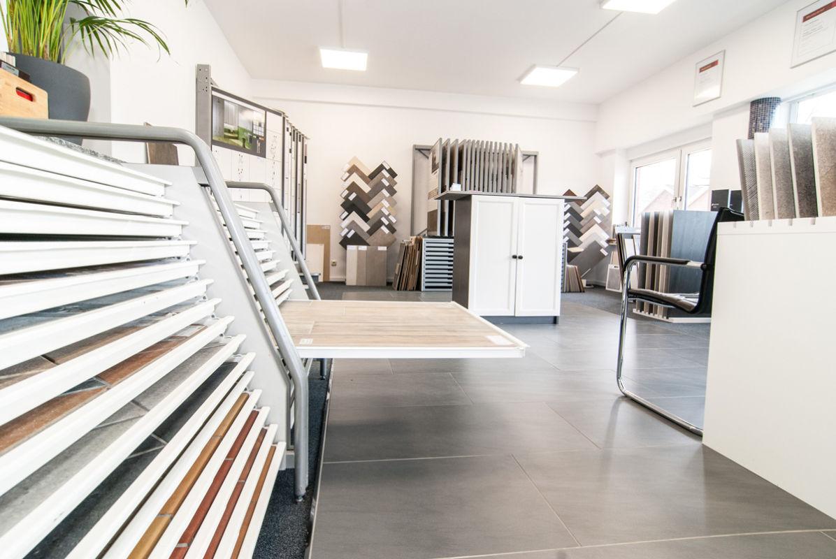 Die Fliesenausstellung von Langnau in Kronshagen
