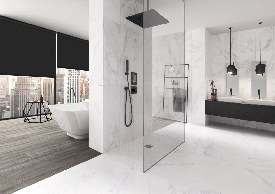 Altersgerechte Badsanierung in modernem Design   Mit staatlicher ...