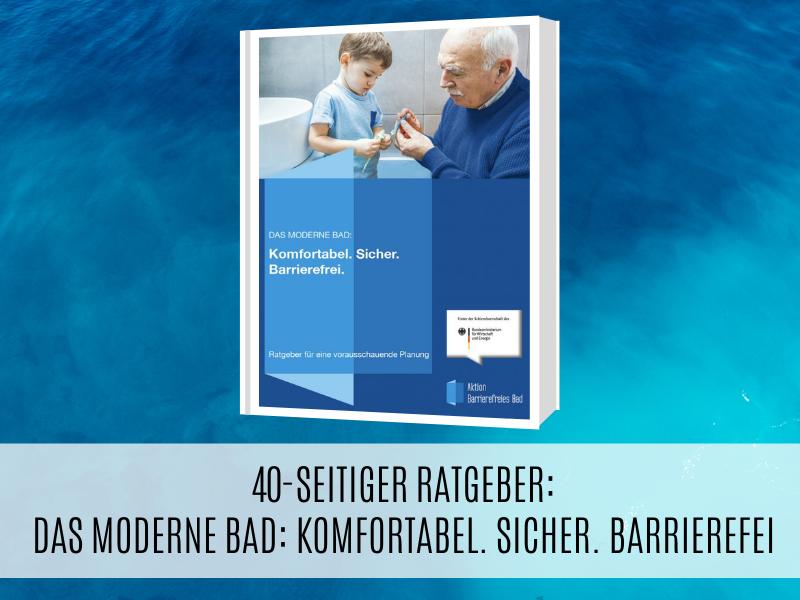 40-seitiger Ratgeber für ein barrierefreies Bad