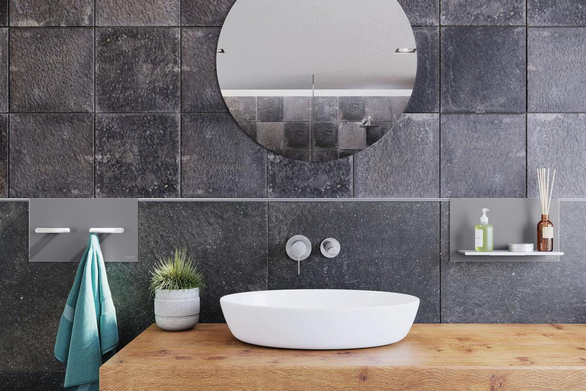 Cleveres Baddesign ohne Bohren   Langnau Fliesen