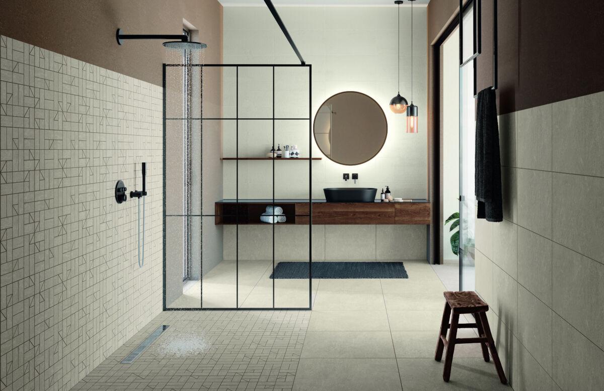 Keramische Fliesen bieten vielfältige Gestaltungs- und Einrichtungsmöglichkeiten fürs Bad.